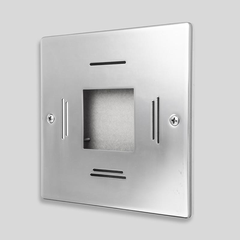 <a style='font-size: 10px;'>Behncke LED EVA, kwadratowy, ze stali nierdzewnej</a>